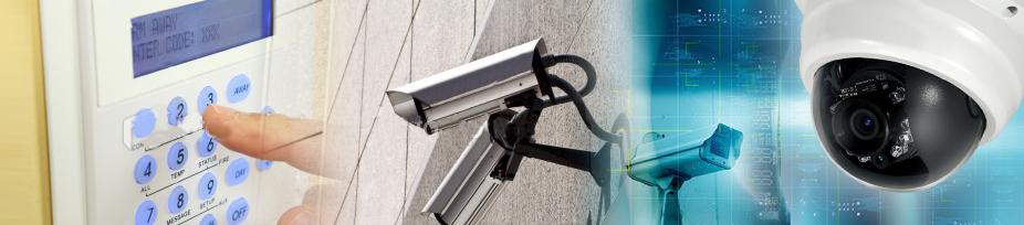 IP CCTV cameras installed